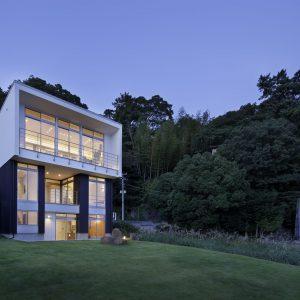 34) 大開口のSE構法 3階建て住宅