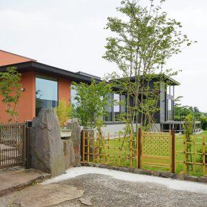 70)お庭を望む、高性能の平屋住宅